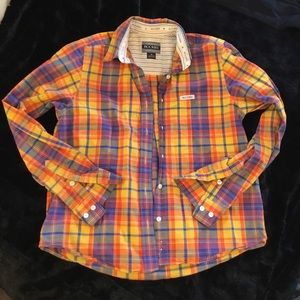 AUTHENTIC ROCKIES JEANSWEAR BUTTON UP SHIRT